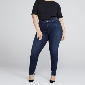 J Brand Maria mid rise 912 ink jeans